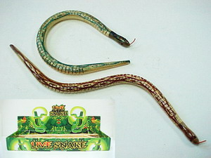 WOODEN SNAKE, 2DZ/DISPLAY BOX