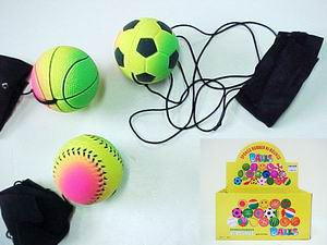 SPORT RETURN  BALL, 2DZ DISPLAY BOX