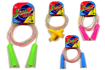 6 FEET ASSORTED COLOR JUMP ROPE