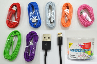9 Feet Smart Phone Charge Cable, 2 dz display can