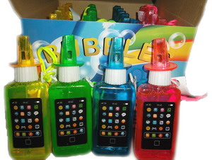 SMART PHONE BUBBLE TOY, 2 DZ DISPLAY BOX