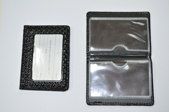Name Card/ID Holder/pocket - black only