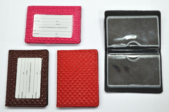 Assorted Color Name Card Holder