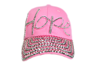 PINK HOPE BLING CAP