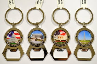 WASHINGTON DC CAP OPENER KEY CHAIN