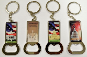 WASHINGTON D.C. CAN OPENER KEY CHAIN