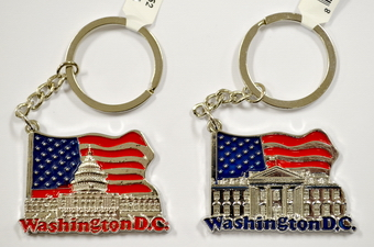 Washington D.C. Key Chain