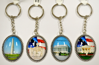 WASHINGTON DC KEY CHAIN
