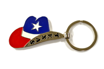 TEXAS COWBOY HAT KEY CHAIN