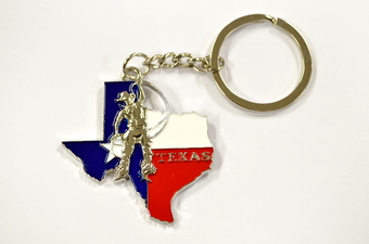 TEXAS COWBOY KEY CHAIN