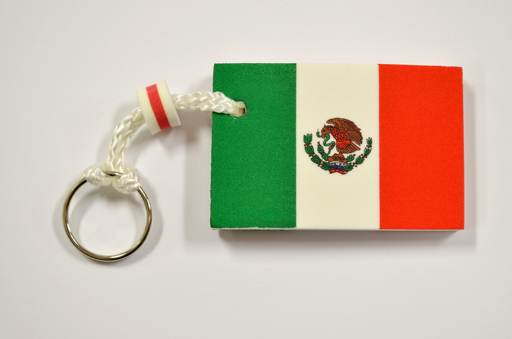 MEXICAN FLAG FOAM K.C.