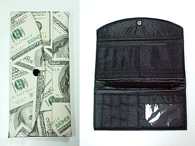 LADY CLUTCH WALLET - US DOLLAR DESIGN