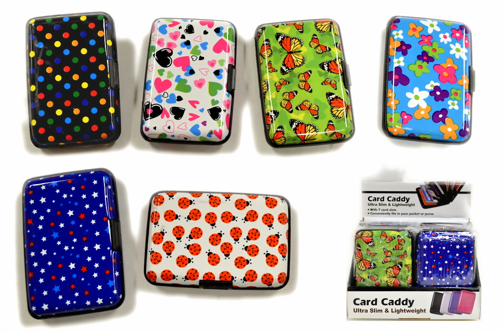 Assorted Print Card Holder